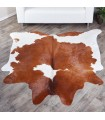 Brown & White Cow Hide #327 (33 sq ft)