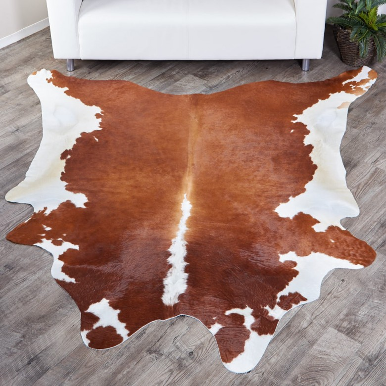 Shop For Brown Amp White Brazilian Cow Hide Rug 326 33 5