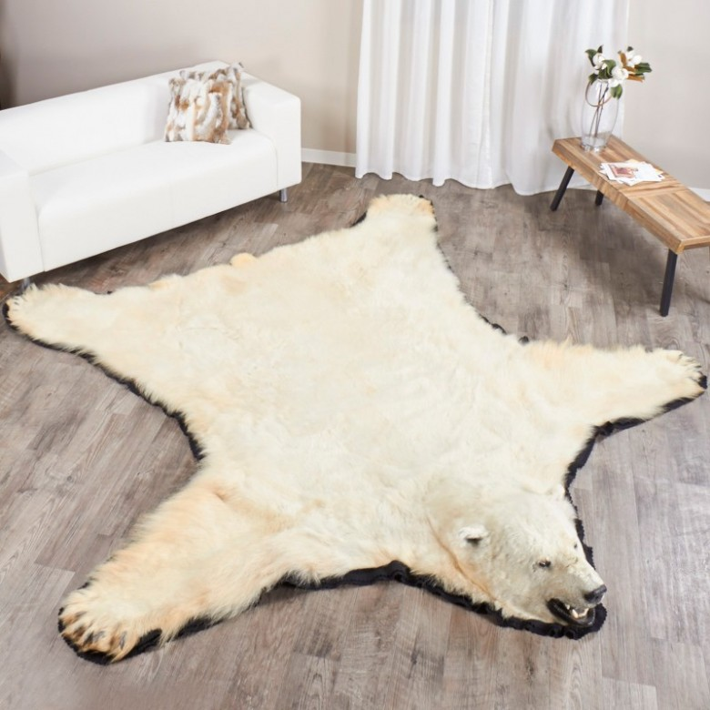 Shop for 10 Foot Polar Bear Rug EP411263 at Bear Skin Rugs