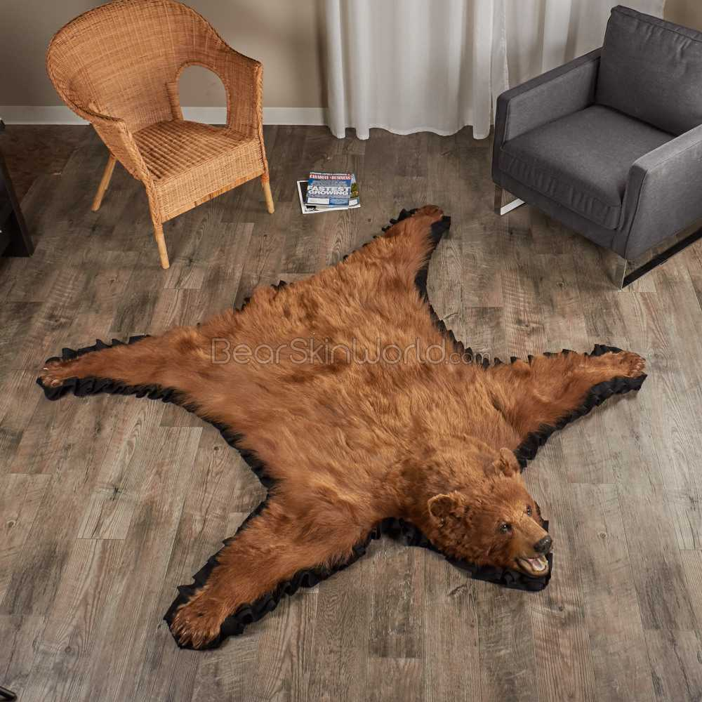How To Care For Your Bearskin Rug